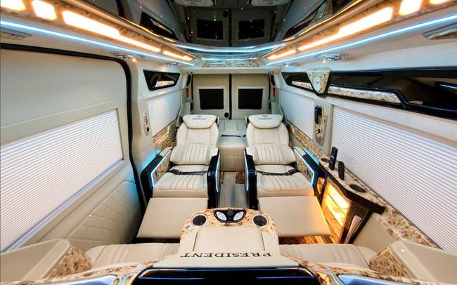 Khám phá chuẩn mực dòng xe President của Dcar Limousine