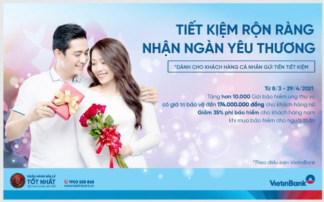 """VietinBank dành tặng nhiều ưu đãi cho """"phái đẹp"""""""