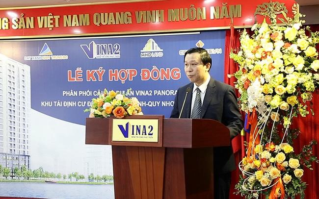 Vina2 ký hợp tác cùng các đơn vị phân phối dự án 3 mặt tiền ở Quy Nhơn