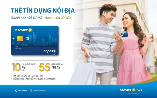 Người tiêu dùng được hưởng lợi khi sử dụng thẻ tín dụng nội địa