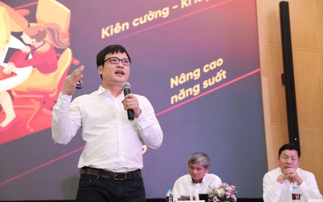 Ông Nguyễn Văn Khoa, Tổng Giám đốc FPT bật mí bí quyết vượt bão Covid