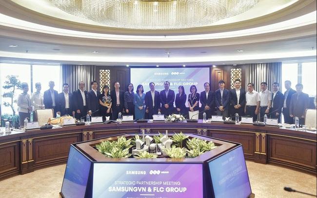 Tập đoàn FLC và Samsung thúc đẩy hợp tác chiến lược toàn diện