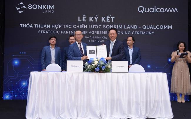 SonKim Land và Qualcomm ký kết hợp tác chiến lược