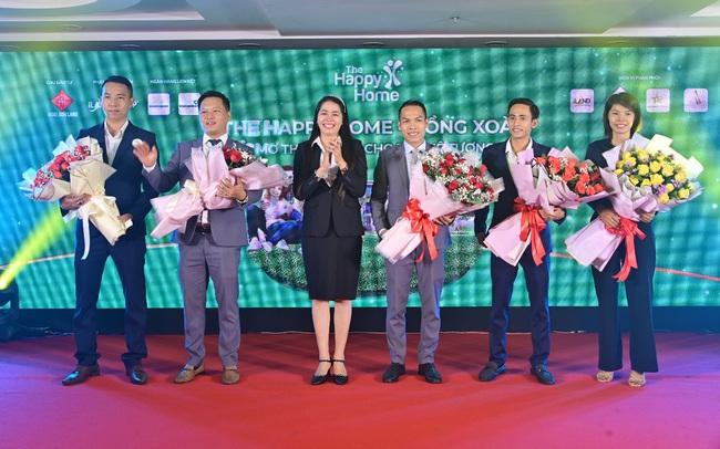 Lễ công bố dự án The Happy Home thu hút hàng trăm khách hàng