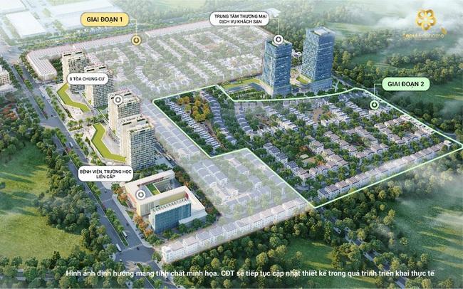 Hoàng Lan – Phân khu trung tâm của KĐT Seoul Ecohome