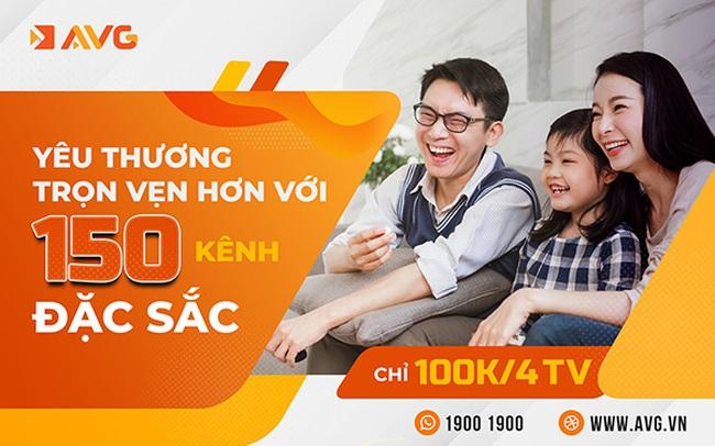 Tại sao AVG tung gói cước 100k sử dụng tới 4 tivi?