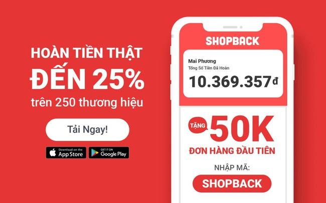 ShopBack hoàn lại hơn 22 tỷ đồng cho người tiêu dùng Việt