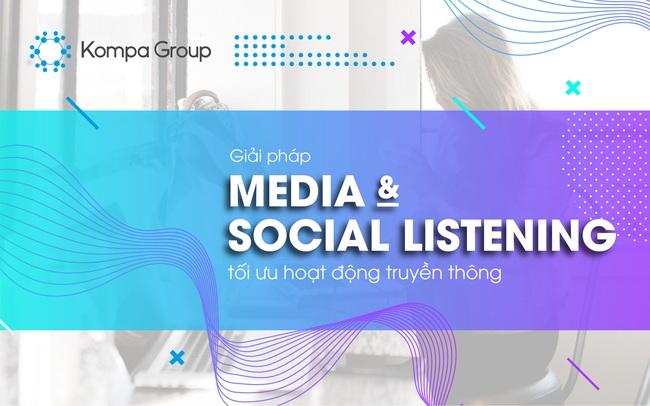 """Giải pháp """"Media & Social Listening"""" của Kompa Group: Tối ưu hóa chiến lược Truyền thông và Marketing"""