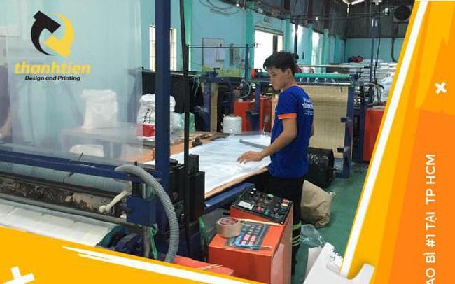 Thành Tiến sản xuất túi nilon tự huỷ thân thiện môi trường