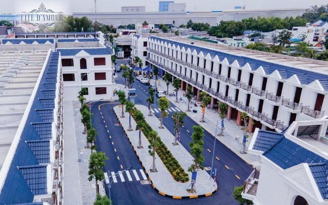 Đầu tư kịp thời, sinh lời liền tay với nhà phố xây sẵn Cité D'amour