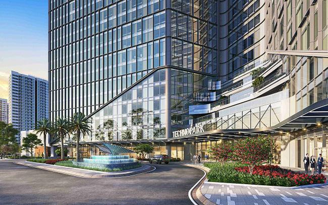 TechnoPark Tower có tiêu chuẩn tương đương các tòa văn phòng thông minh hàng đầu thế giới