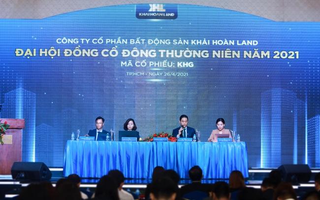 Khải Hoàn Land tổ chức Đại hội đồng cổ đông thường niên năm 2021