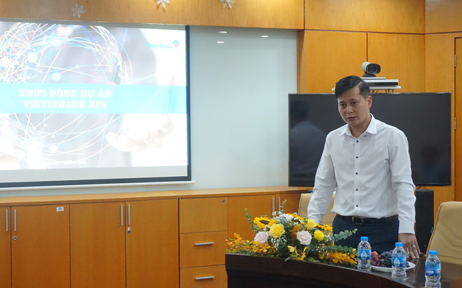 VietinBank kỳ vọng nâng cao năng suất bằng phần mềm Robot