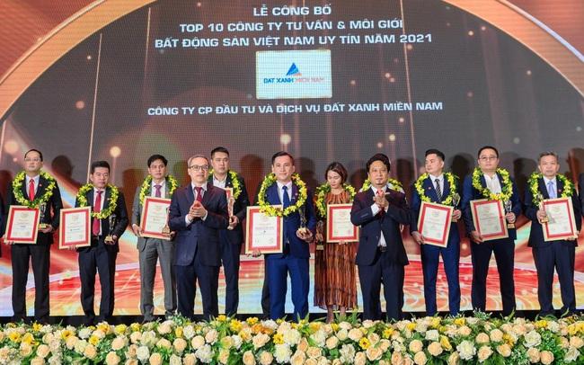 Đất Xanh Miền Nam đạt Top 10 công ty BĐS Việt Nam uy tín năm 2021