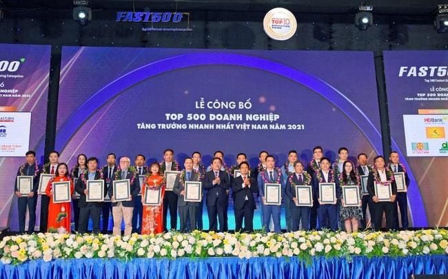 Tập đoàn Ngọc Diệp đạt Top 500 doanh nghiệp tăng trưởng nhanh nhất Việt Nam 2021