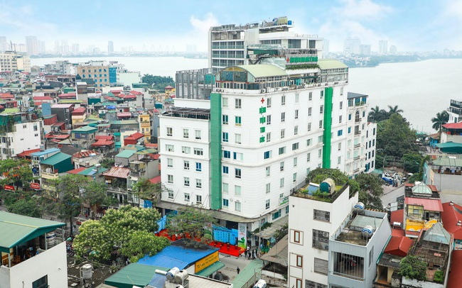 Hệ thống y tế sở hữu các cơ sở có quy mô lớn tại Hà Nội