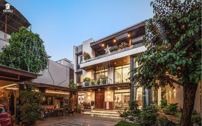 Mãn nhãn với ngôi nhà hẻm vườn rộng, đẹp tại Tân Phú