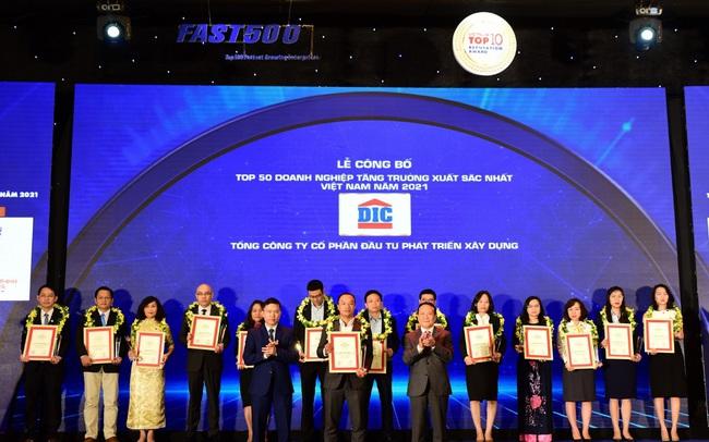 Tập đoàn DIC - Top 50 DN tăng trưởng xuất sắc nhất Việt Nam 2021