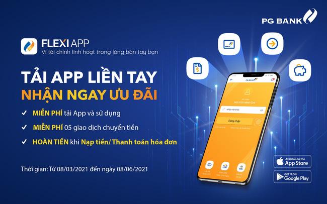 PG Bank mang đến nhiều ưu đãi cho khách hàng dùng App mùa dịch Covid