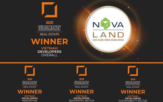 Euromoney bình chọn Novaland là nhà phát triển BĐS xuất sắc nhất Việt Nam 2021