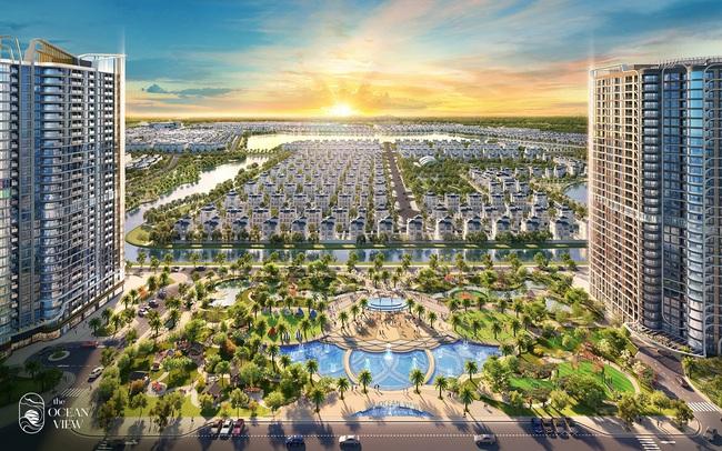 Ra mắt dự án The Ocean View – Đô thị nghỉ dưỡng trong lòng Vinhomes Ocean Park