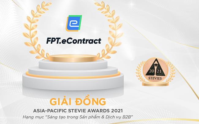 """Hợp đồng điện tử FPT.eContract giành giải """"Oscar của giới kinh doanh"""""""