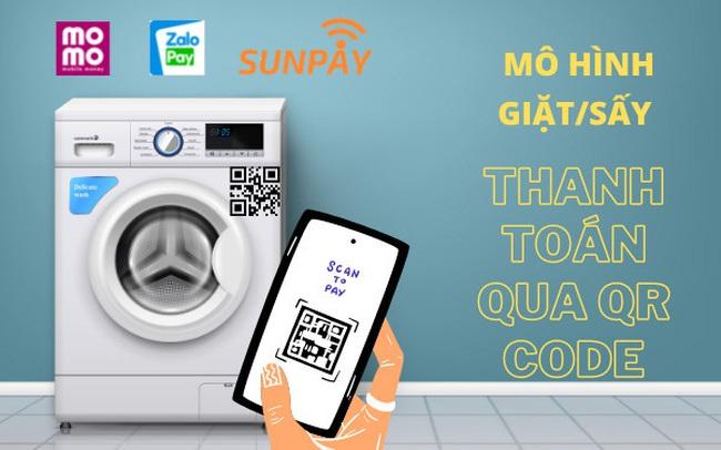 """SunPay - """"Grab, Uber.... trong lĩnh vực giặt sấy tự động"""""""