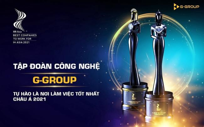 """G-Group được vinh danh """"Nơi làm việc tốt nhất châu Á 2021"""""""