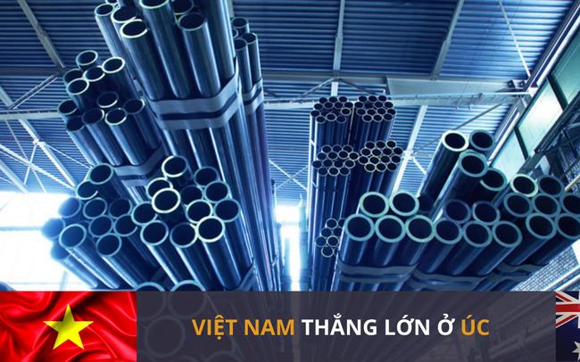 Thép Việt lại chiến thắng tại Úc