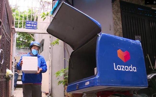 Lazada miễn phí vận chuyển 100% đơn hàng thiết yếu cho người dân TP. HCM