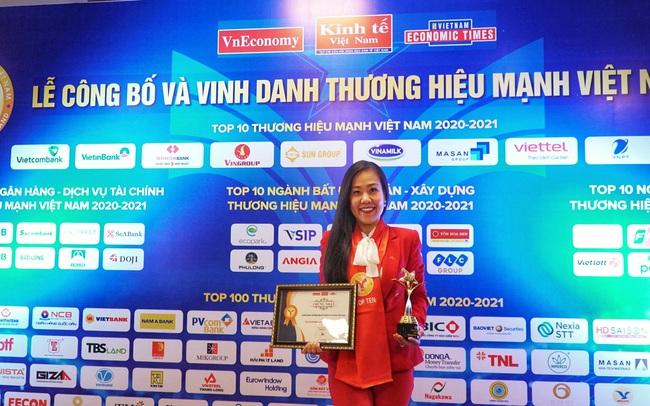 Techcombank được vinh danh top 10 thương hiệu mạnh Việt Nam 2021