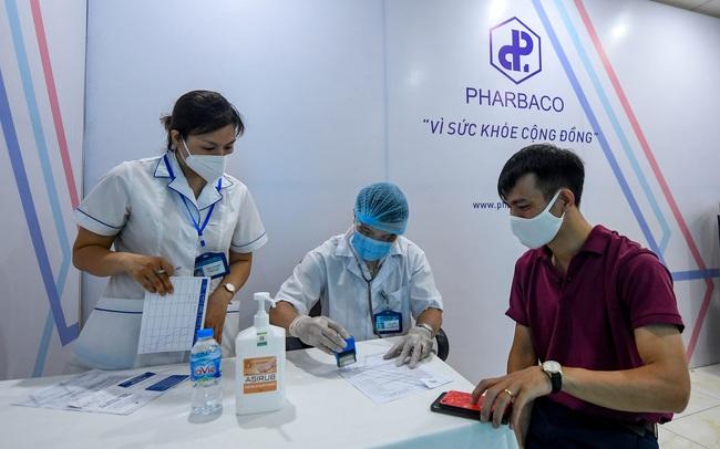 Công ty cổ phần Dược phẩm Trung Ương I - Pharbaco hỗ trợ tổ chức tiêm vắcxin phòng covid-19 tại Hà Nội