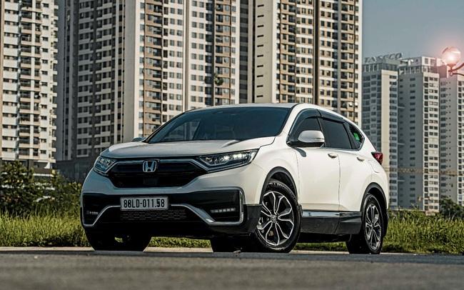 Nhận ngay ưu đãi 100% lệ phí trước bạ khi mua Honda CR-V trong tháng 8