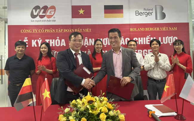 """Tập đoàn Đất Việt """"bắt tay"""" với ông lớn quy hoạch quốc tế Roland Berger"""
