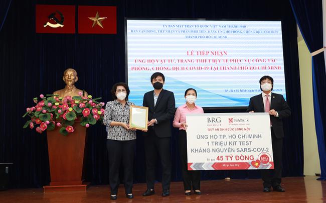 BRG và SeABank tặng 1 triệu test kháng nguyên SARS-COV-2 cho TP. Hồ Chí Minh