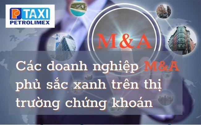 Các doanh nghiệp M&A phủ sắc xanh trên thị trường chứng khoán