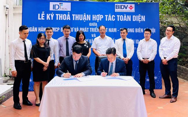 IDJ Real và BIDV ký thoả thuận hợp tác toàn diện