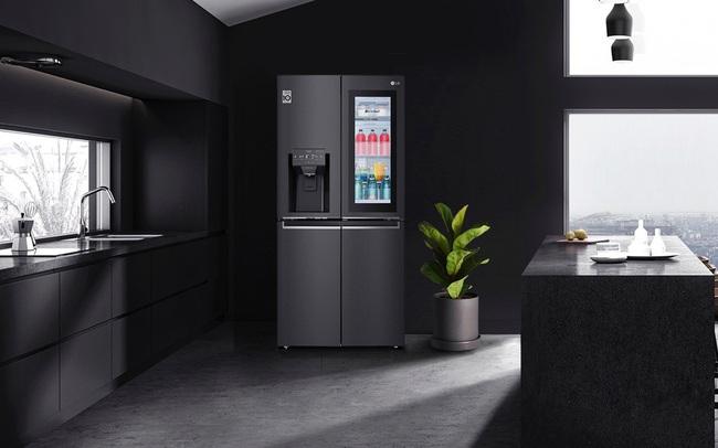 """Chính thức ra mắt LG French Door –  chiếc tủ lạnh biết """"yêu chiều"""" thực phẩm"""