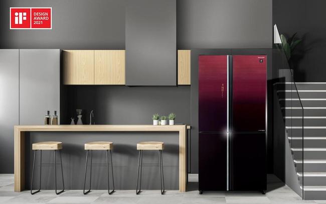 Sharp giới thiệu tủ lạnh chủ động diệt khuẩn bằng Plasmacluster Ion