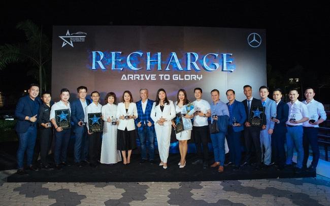 """Bứt phá năm 2020, Mercedes-Benz An Du nhận giải """"Đại lý của năm"""""""