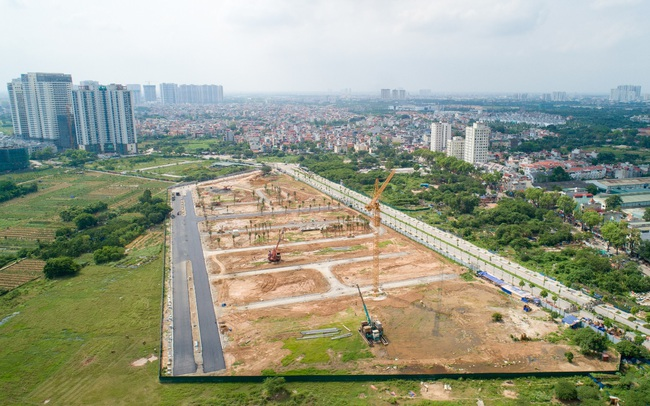 FLC Premier Parc đẩy mạnh thi công hoàn thiện hạ tầng khu đô thị