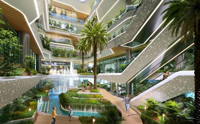 """Sắc xanh ngập tràn tại khu căn hộ """"như resort"""" nơi trung tâm TP Thủ Đức"""