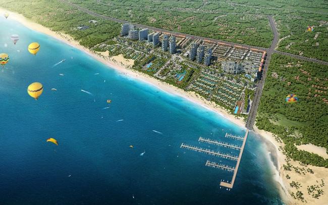 Tiến độ xây dựng dự án Thanh Long Bay - sắp hoàn thiện hai hạng mục quan trọng