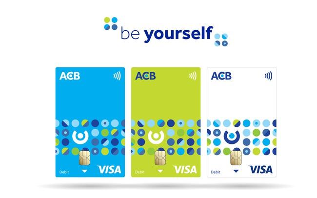"""ACB tung nhận diện mới cho bộ thẻ ngân hàng với tinh thần """"Be Yourself"""""""