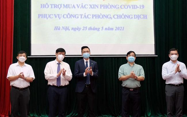 An Phát Holdings ủng hộ Bộ Y tế 20 tỷ đồng mua vaccine ngừa Covid-19