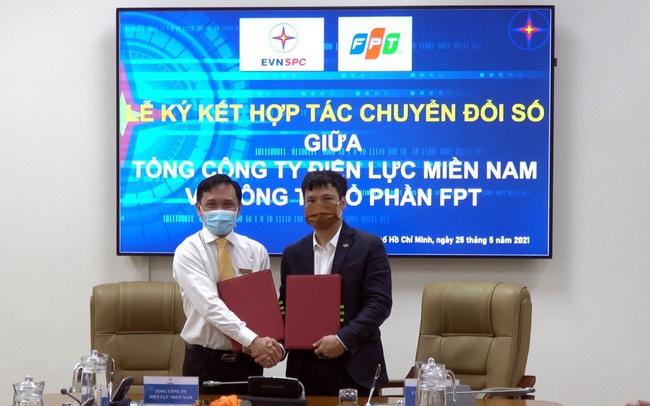 FPT cùng EVNSPC ký kết thoả thuận hợp tác về chuyển đổi số