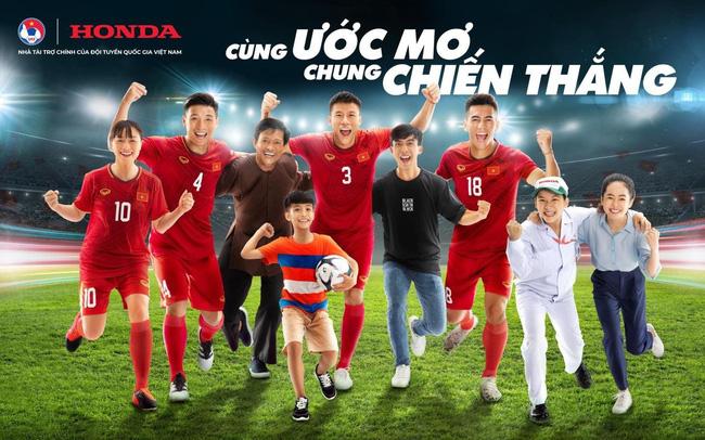 Honda Việt Nam tiếp tục đồng hành cùng VFF