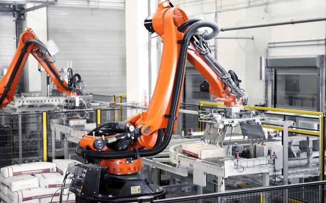 Doanh nghiệp việt đẩy mạnh ứng dụng robot đóng bao tự động vào quy trình sản xuất