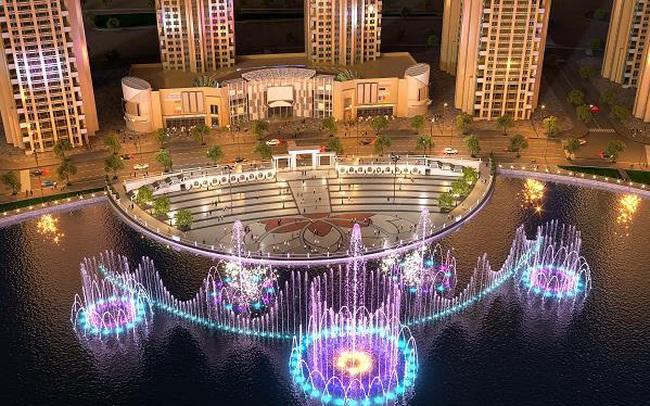 Van Phuc Group đẩy mạnh tiến độ thi công công trình Nhạc Nước trăm tỷ