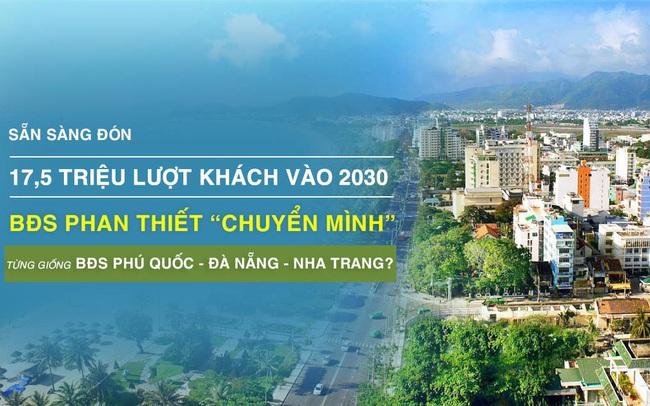 Thị trường BĐS Phan Thiết chuyển mình, sẵn sàng đón 17,5 triệu lượt khách năm 2030